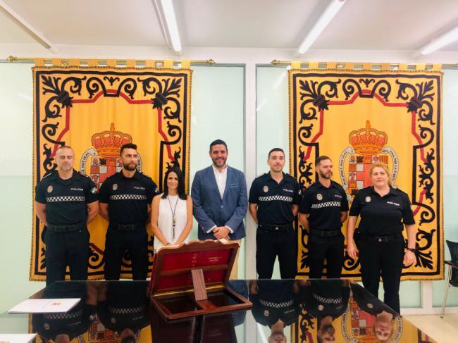 Toman posesión 4 nuevos oficiales de Policía Local de Almería