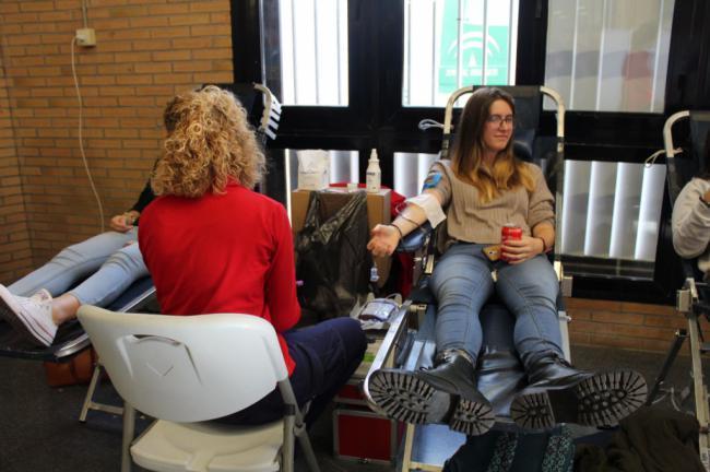 Campaña navideña de donación de sangre