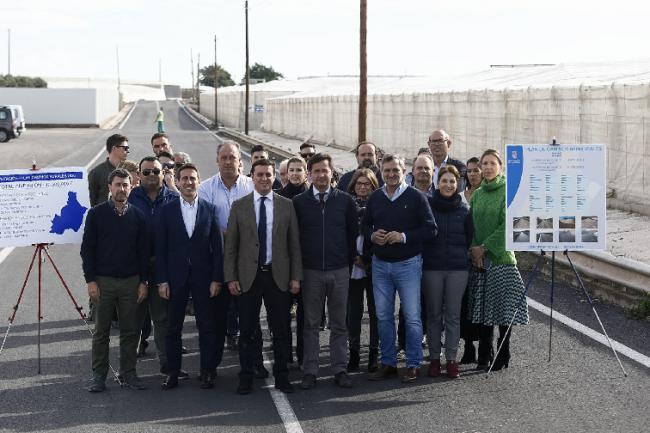 Diputación invierte 10,5 millones de euros en Caminos Rurales