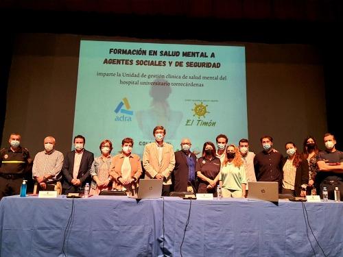 Programa de atención especializada para familias y enfermos de salud mental en Adra
