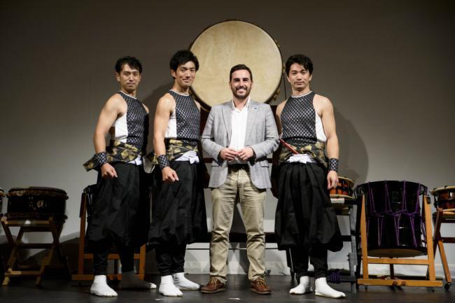 La danza y percusión japonesa de 'Ha Ya To' hará escala en Almería
