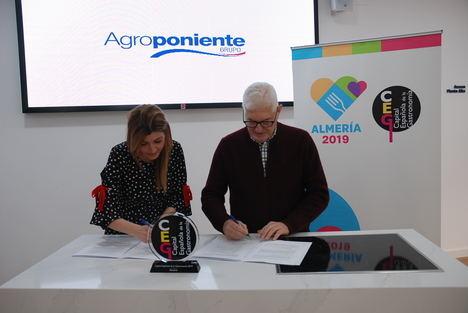 Agroponiente se adhiere a la 'Capital Española de la Gastronomía Almería 2019'
