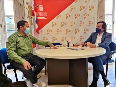 Ciudadanos impulsará el sendero que une Uleila del Campo, Benizalón y Tahal en los Filabres
