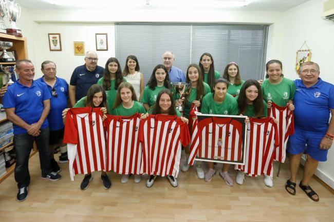 Diputación y la Federación reciben a la selección almeriense de Fútbol Sala campeona de Andalucía