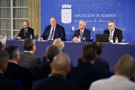 Diputación alberga la puesta de largo de la Fundación 'Tercio de Extranjeros'