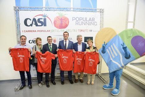 Más de 1.000 deportistas participarán el domingo en la CASI Tomate Popular Running
