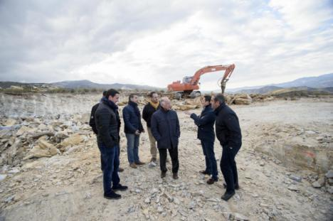 Diputación y Macael construirán el 'Parque de las Familias' con más de 335.000 € de inversión