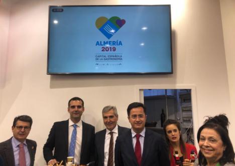 La Capitalildad Gastronómica de Almería se exhibe en Fruit Logistica