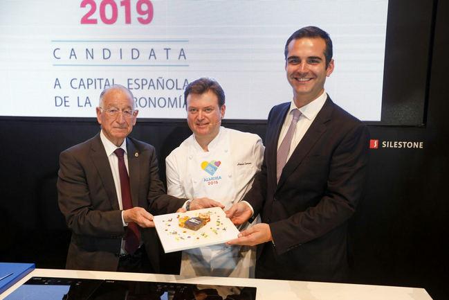 Diputación aprobará en pleno su apoyo a la candidatura a capital gastronómica de 'Almería 2019'