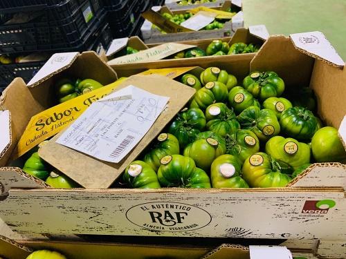 El tomate raf ya ha superado los 9 euros el kilo