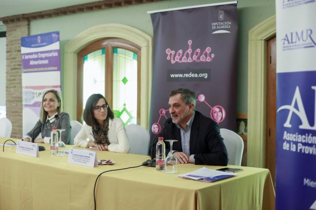 Diputación y ALMUR reúnen a un centenar de empresarias en sus V Jornadas