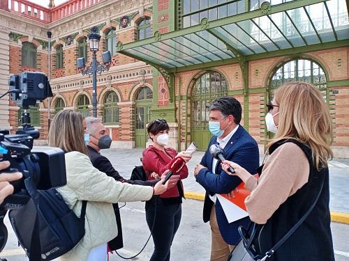 Cazorla pide que sean los almerienses quienes decidan el uso de la antigua Estación