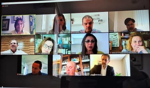 Cs analiza con la Cámara de Comercio el tejido empresarial de Almería tras el #COVID19
