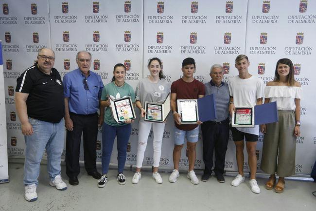 Diputación recibe a las selecciones andaluzas de Fútbol de Almería