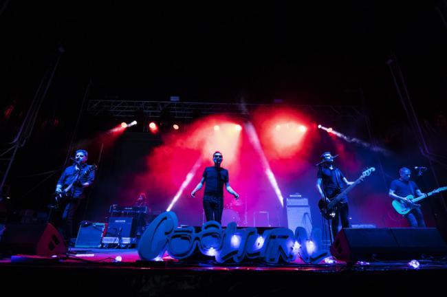 091 y Casino llenan de rock la Plaza Vieja