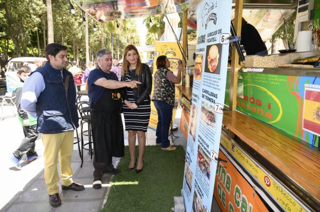Más de 10.000 personas saborearon las FoodTrucks en Almería