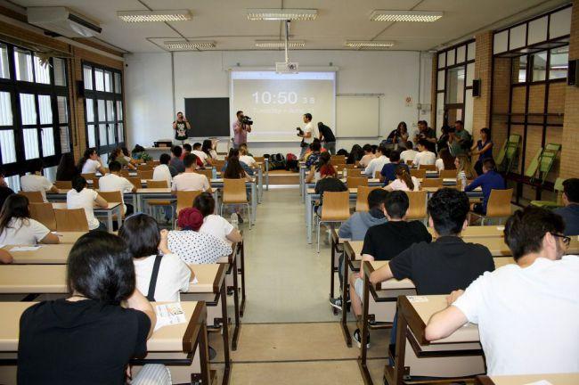 476 estudiantes se examinan de selectividad a partir del próximo 10 de septiembre