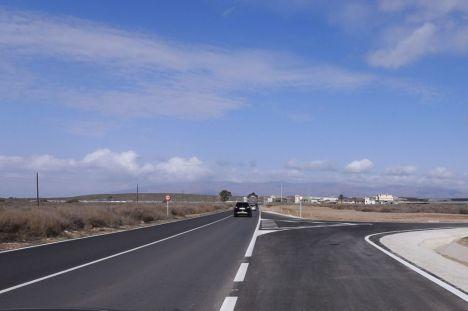 Fomento cede al Ayuntamiento de Huércal de Almería un tramo de la carretera N-340A