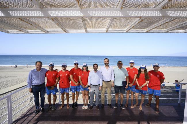 Las playas de Almería son las más seguras de Andalucía