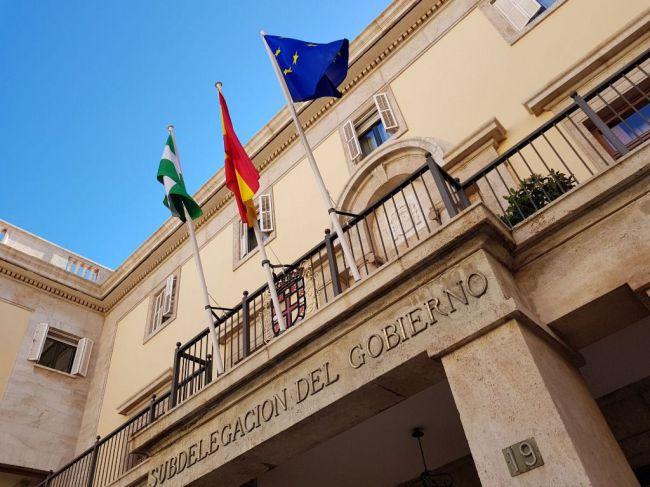 CNT y Nación Andaluza se concentran por la muerte de Illias en Tierras de Oria