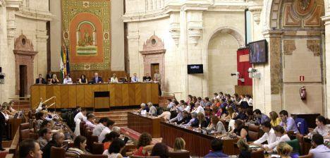 Monográfico sobre la gota fría en el Parlamento Andaluz