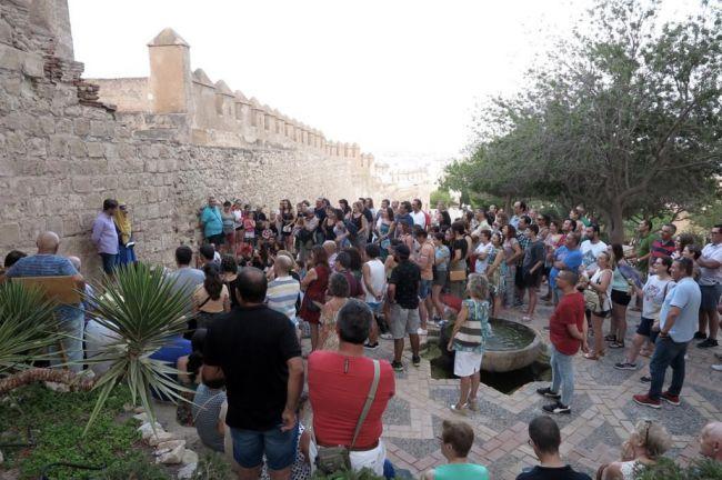La Alcazaba ofrece visitas gratuitas a todos los colegios de Almería
