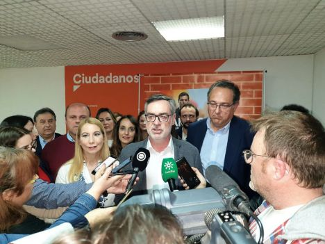 Cs vuelve a designar a Villegas como número uno por Almería al Congreso