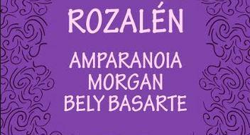 Rozalén, Amparanoia, Morgan y Bely Basarte actuarán en 'Almería 100 Por Ciento Mujer'