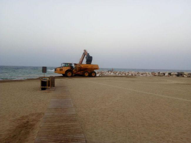 71.000 m3 de arena para las playas dañadas por la DANA en Almería