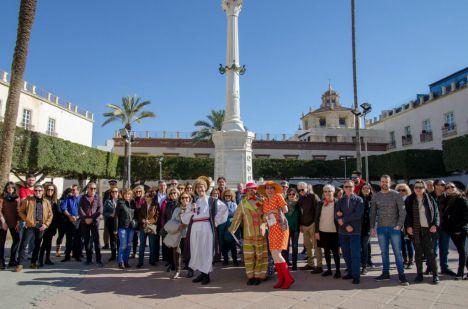 IU reclama que el monumento a Los Coloraos siga en la Plaza Vieja