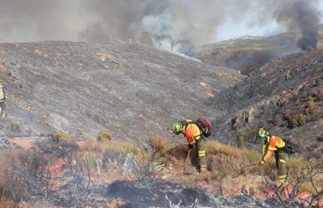 Controlado un incendio declarado en Vícar