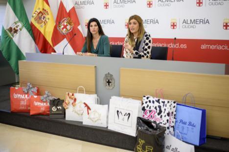 Dos desfiles pasearán la moda de Almería para las compras de la Navidad