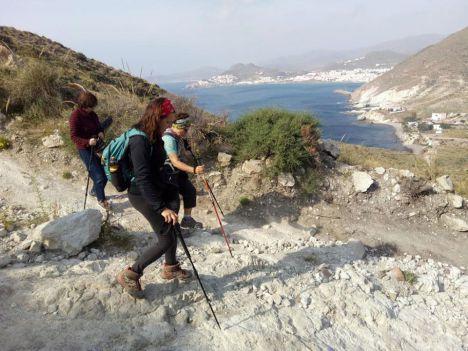 Los mayores harán senderismo a través de 'Calabardina-Cabo Cope'