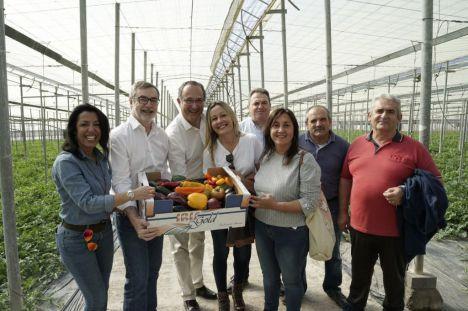 """Villegas (Cs): """"La exportación agrícola de Almería no puede estar supeditada a los independentistas y a la inacción de Sánchez"""""""