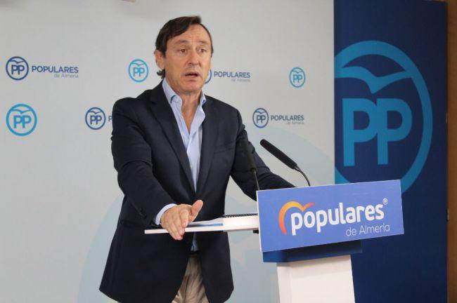 """Hernando dice que """"Almería ha sido una de las provincias más castigadas por Sánchez"""""""