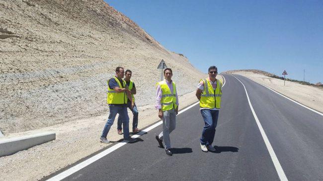 Mejora de cinco kilómetros en dos carreteras del norte de la provincia