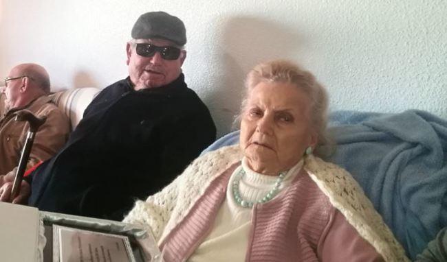 Una ejidense de Balerma cumple 101 años