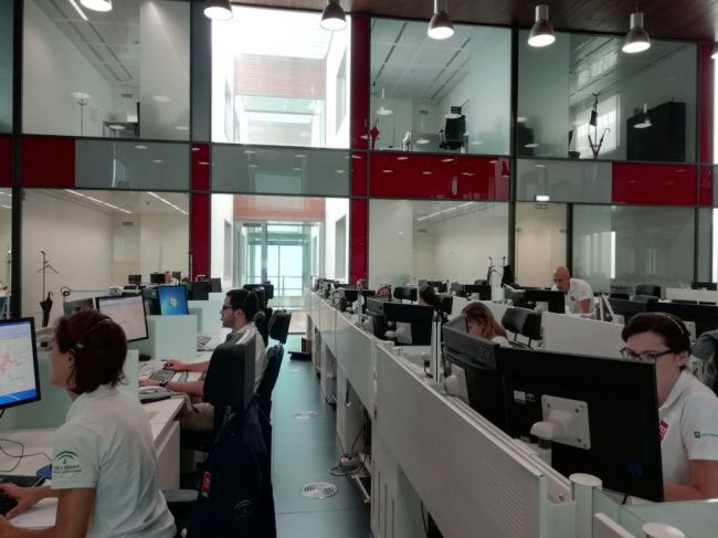 559 avisos al 112 en Almería en el puente deTodos los Santos