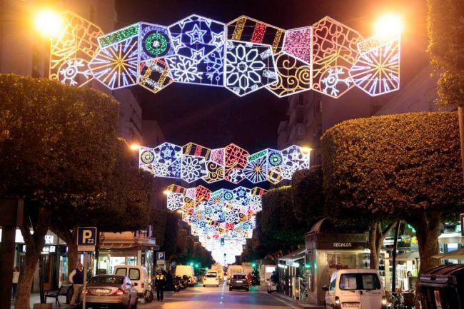 Las luces de Navidad costarán 173.000 euros