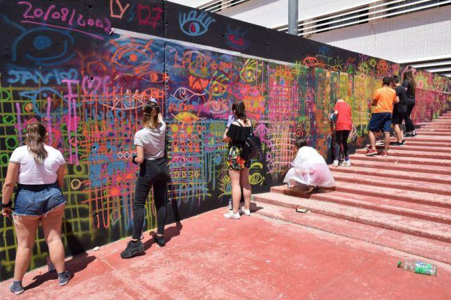 Más de 2.000 euros para los mejores graffitis de Vícar