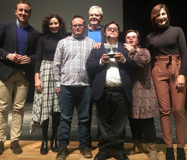 """Pablo Pineda Ferrer y José Antonio Fernández Bravo en la """"V Jornada de Educación, Familia y Escuela"""" de Vera"""