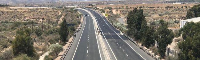 Antes de fin de año estará licitada la conexión de la Autovía del Almanzora con la A-7
