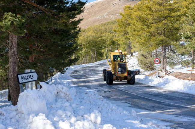 Diputación despliega el dispositivo especial de carreteras
