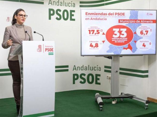 El PSOE reclama a la Junta 28 millones para el Andarax, Nacimiento y Los Filabres