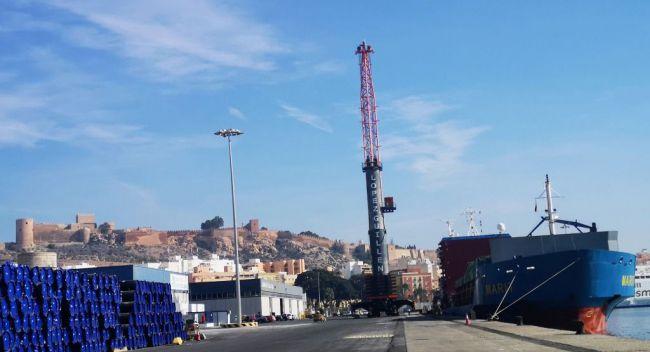 Las exportaciones por los puertos de Almería y Carboneras crecen un 3,9 %