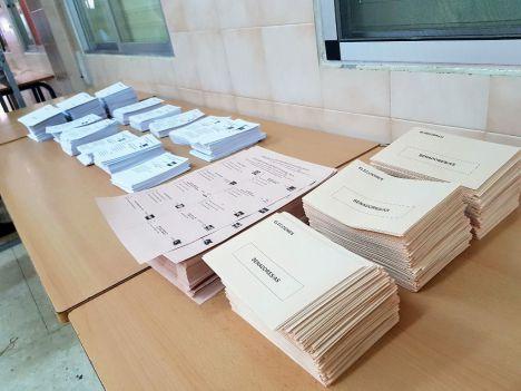 Las papeletas de las elecciones del 10N en Almería costaron más de 42.000 euros