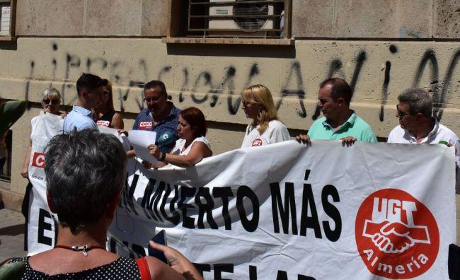 La siniestralidad laboral en Almería supera ya en un 30% la de 2018