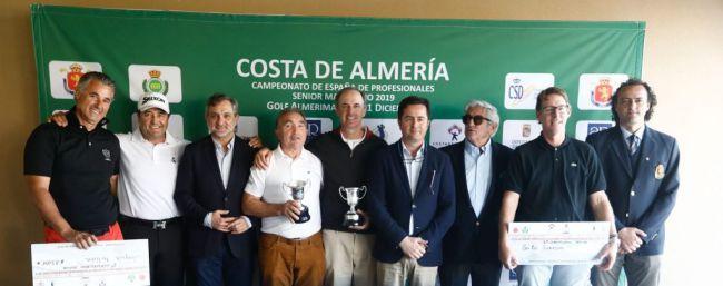 El Campeonato de Golf de España Senior se consolida con 'Costa de Almería'