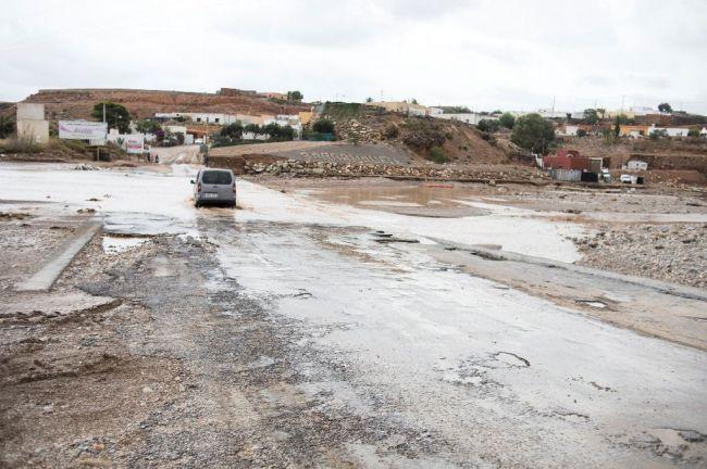 Albox, Instinción, Fuente Victoria y Zurgena recibirán 125.000 euros de la Junta por el temporal