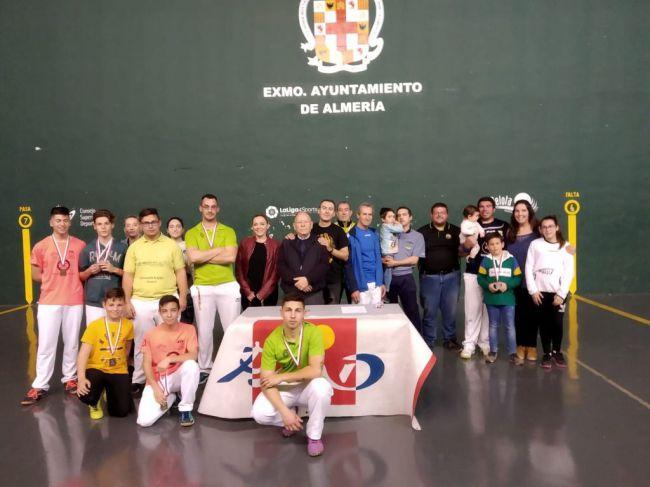 Almería repite en la final del Campeonato de Andalucía de Mano Individual
